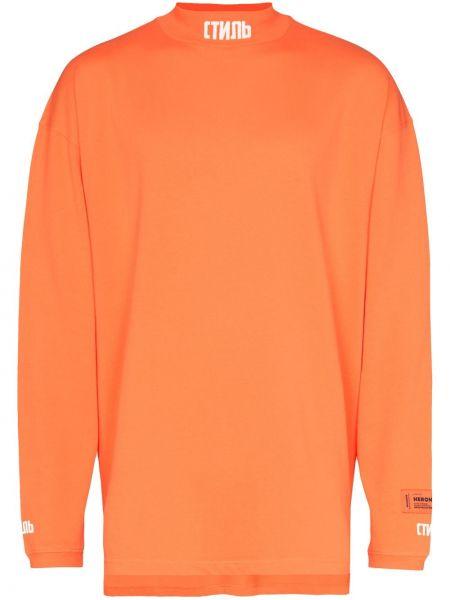Golf - pomarańczowy Heron Preston