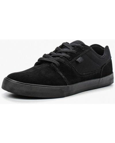 Текстильные черные пинетки Dc Shoes