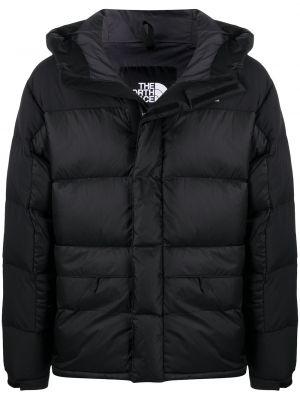 Нейлоновая белая куртка с капюшоном с манжетами с вышивкой The North Face