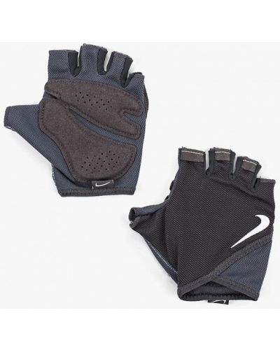 Перчатки серые для фитнеса Nike