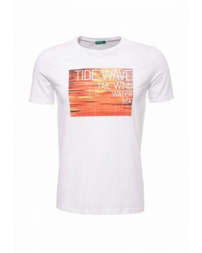 Белая футболка для футбола United Colors Of Benetton