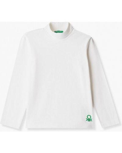 Белая водолазка United Colors Of Benetton