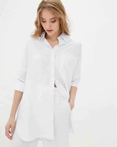 Белая блузка с длинными рукавами 7arrows