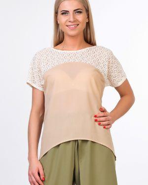 Шифоновая блузка - бежевая Kapsula