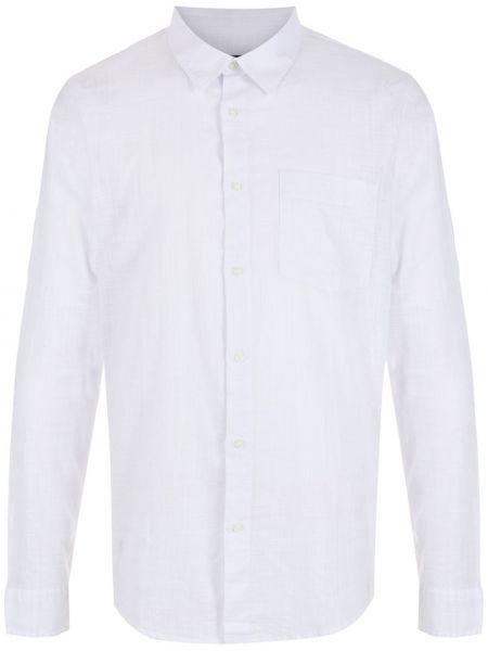 Biała biała koszula z długimi rękawami Osklen