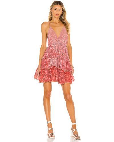Różowa sukienka Chio
