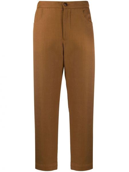 Укороченные брюки с поясом с карманами Barena