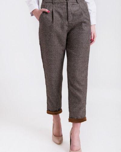 Коричневые брюки Olko
