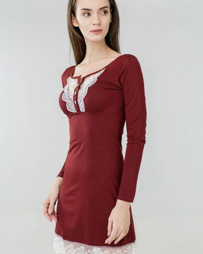 Рубашка бордовый красный Ora