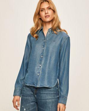 Klasyczna koszula materiałowa zapinane na guziki Calvin Klein Jeans