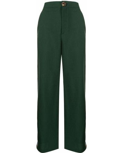 Spodnie wełniane - zielone Enfold