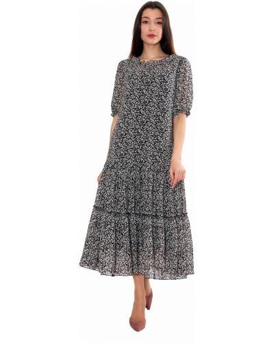 Шифоновое платье - бежевое Anna Dali