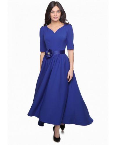 Синее вечернее платье Grey Cat