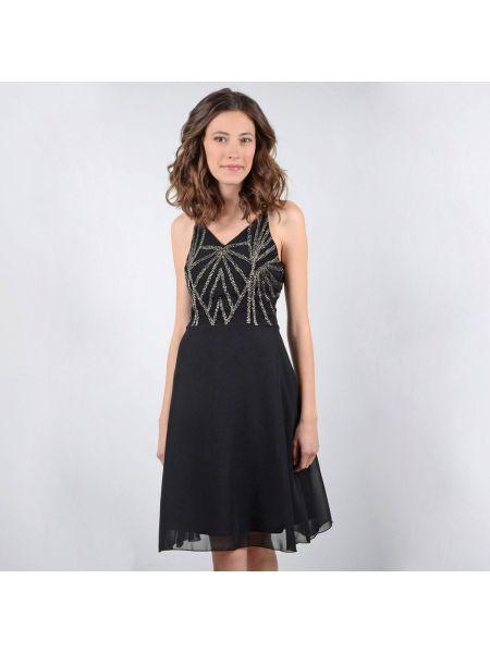 Платье миди мини с V-образным вырезом прямое Molly Bracken
