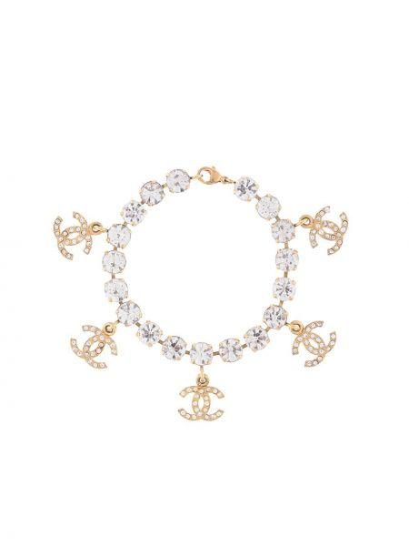 Bransoletka ze złota pozłacany ze srebra Chanel Pre-owned