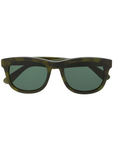 Прямые муслиновые солнцезащитные очки квадратные хаки Han Kjøbenhavn