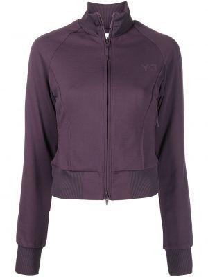 Фиолетовая куртка двухсторонняя Y-3