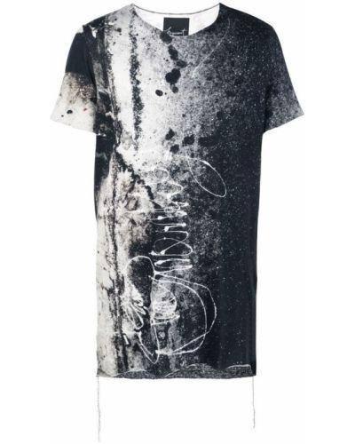 Черная футболка Fagassent