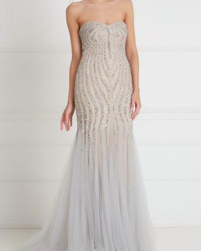 Облегающее платье макси Tony Ward