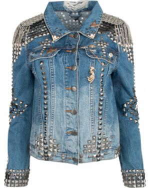 Джинсовая куртка на пуговицах с карманами One X One Teaspoon