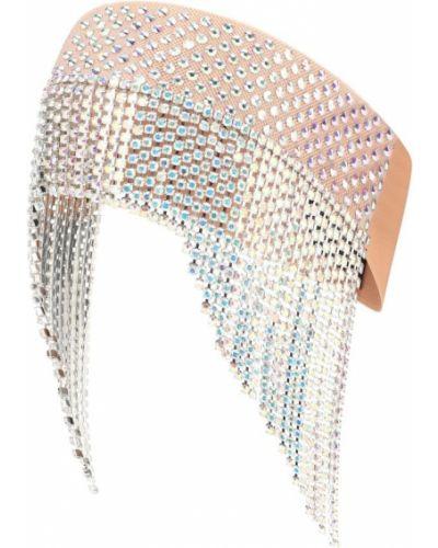 Opaska na głowę ze skałami na głowie Gucci