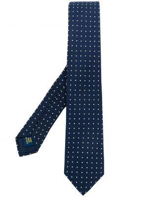 Krawat z printem - biały Polo Ralph Lauren