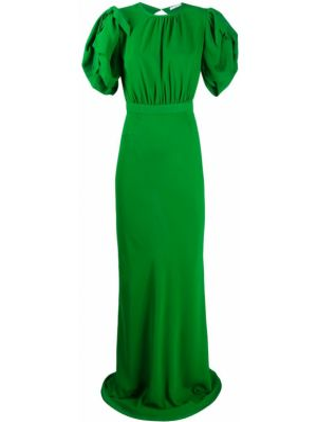 Вечернее платье с открытой спиной мини Alessandra Rich