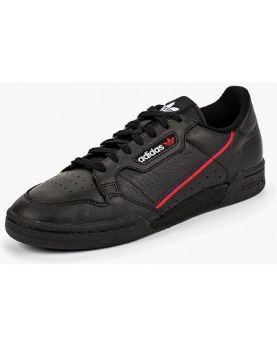 Черные низкие кеды Adidas Originals