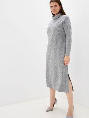 Платье свитер - серое Mankato