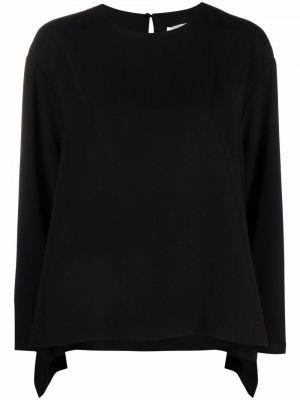 Черная блузка длинная Henrik Vibskov
