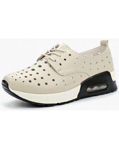 Бежевые кроссовки La Grandezza