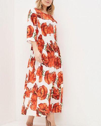 Красное платье весеннее Kr