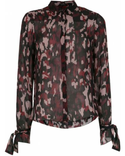 Рубашка с завязками - черная Tufi Duek