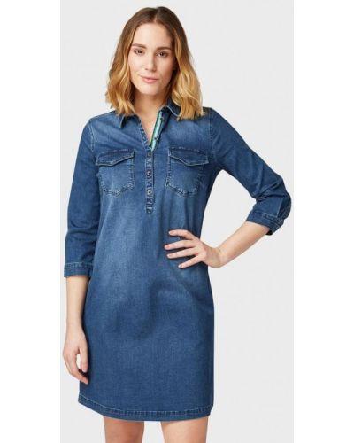 Джинсовое платье весеннее Tom Tailor