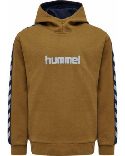 Czarna bluza z długimi rękawami Hummel