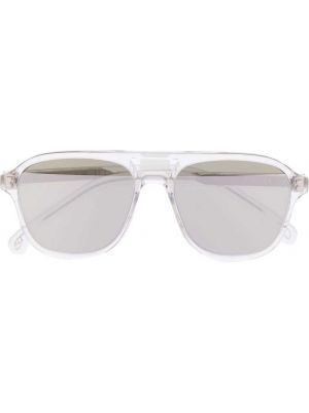 Прямые солнцезащитные очки хаки с завязками Paul Smith Eyewear