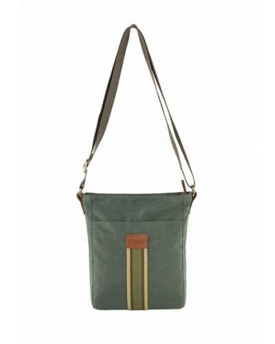 Зеленая сумка через плечо Exodus