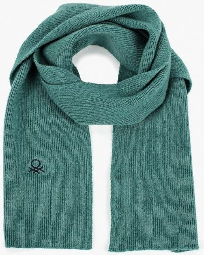 Зеленый шарф United Colors Of Benetton