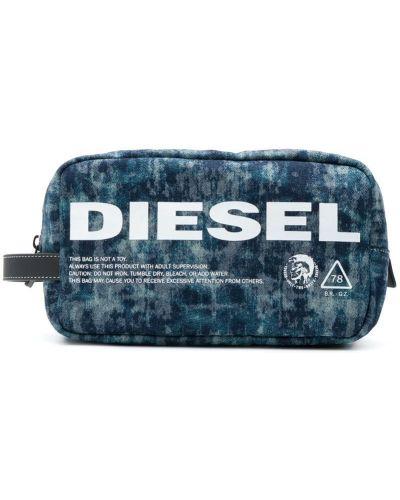 Несессер синий Diesel