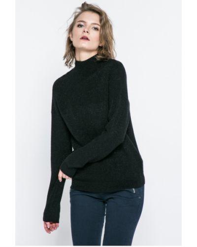 Черный свитер в полоску Jacqueline De Yong