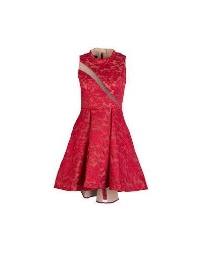 Красное вечернее платье Forever Unique