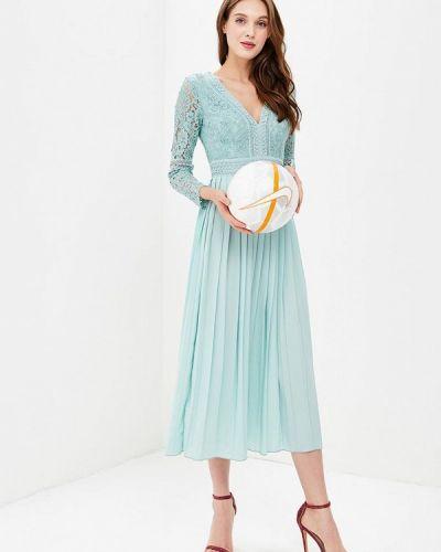 Бирюзовое вечернее платье Little Mistress