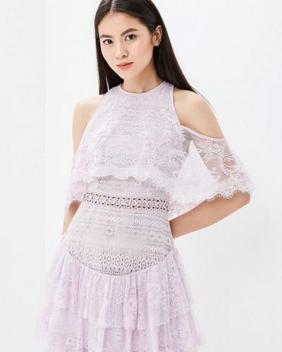Фиолетовое вечернее платье True Decadence