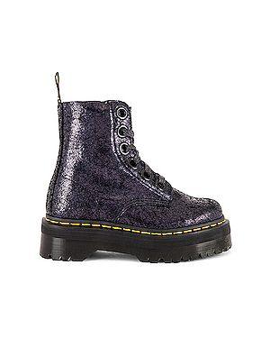 Ботинки на платформе на шнуровке на каблуке Dr Martens