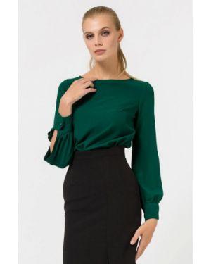 Блузка с длинным рукавом зеленый Remix
