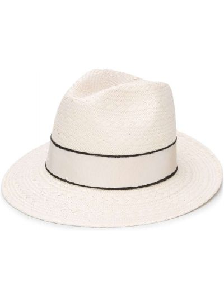 Соломенные шляпа - белые Eres