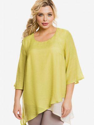 Желтая весенняя блузка Venusita