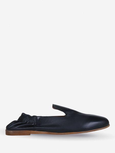 Кожаные полуботинки - черные Inuovo