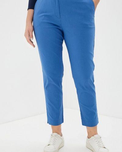 Голубые зауженные брюки Svesta