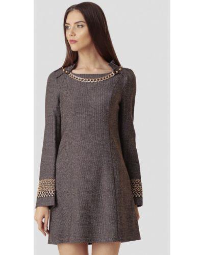 Платье - серое Ано